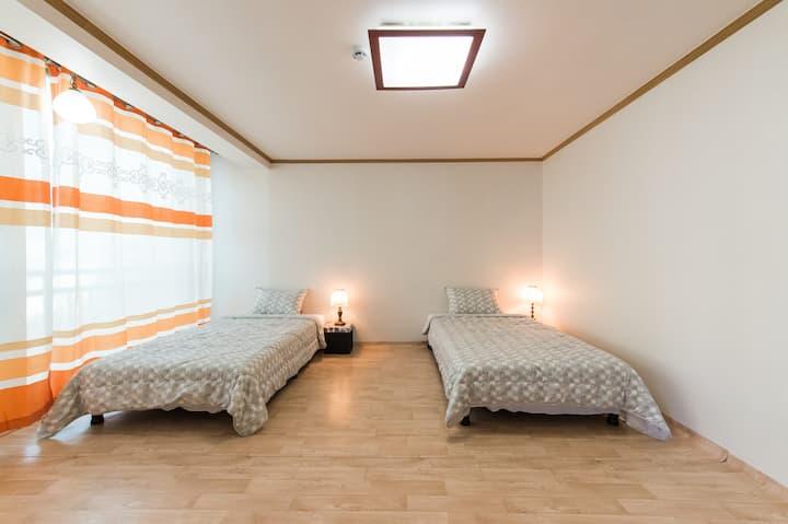 Casa Cielo(넓고 깨끗한 2인실-1인 예약 가능, 서울역 도보 10분)