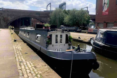 Stunning city centre Narrowboat with Honesty Bar