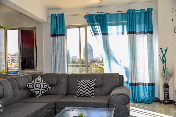 Stylish 1 bedroom in Kileleshwa W/unlimited WIFI