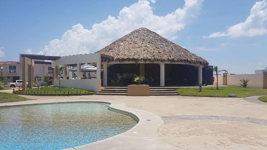 Casa Descanso a 2 cuadras del Mar en Veracruz