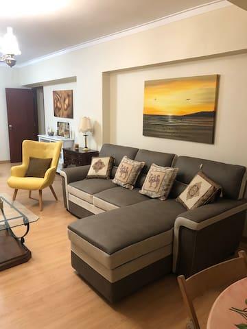 Sofa-bed / leaving room