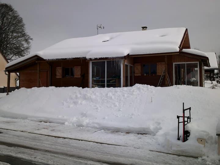 Chambre Namasté kitchenette; ski de fond  lac/été