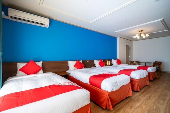 1名様~4名様 客室広さ35㎡~40㎡ ラナイで緑と新鮮な空気を感じながらBBQが楽しめるお部屋