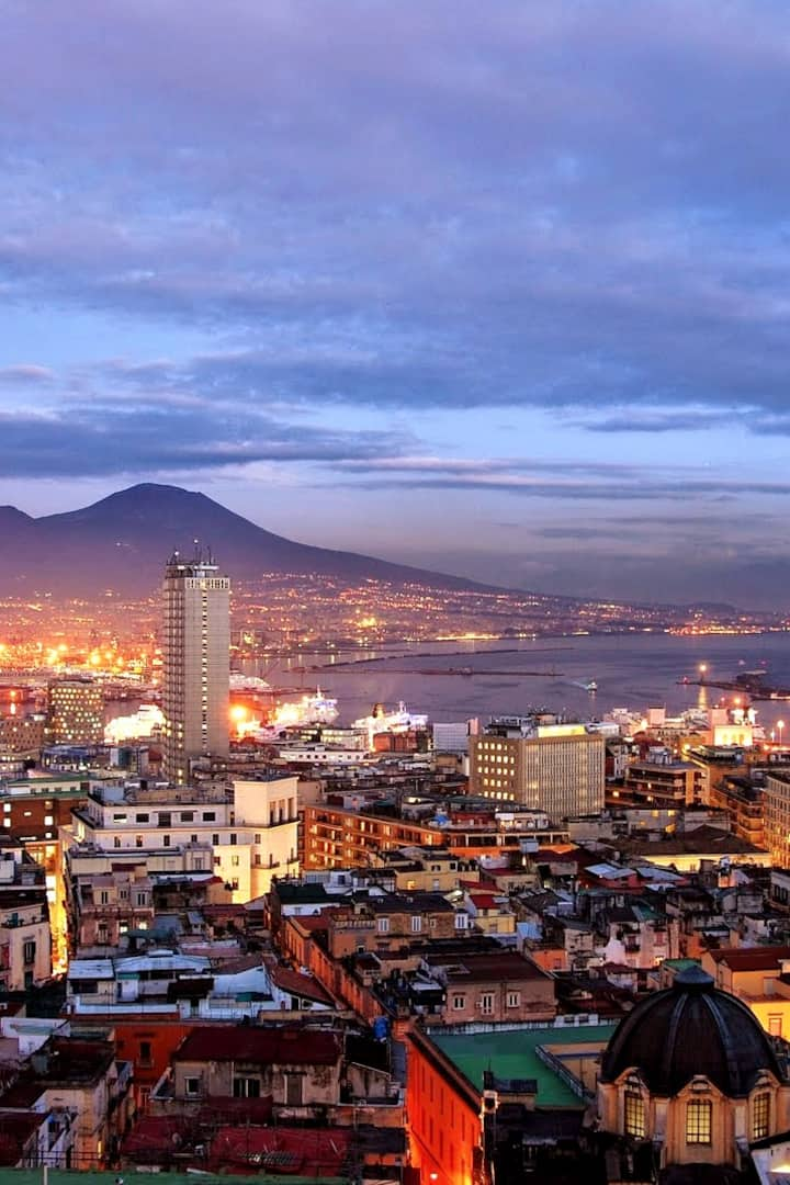Naples, a corner of paradise on earth