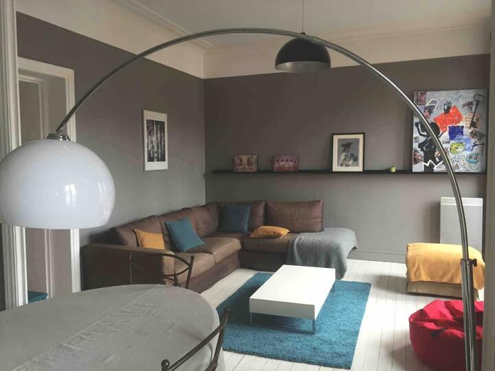 Appartement 76 m2  2 chambres au cœur de Granville