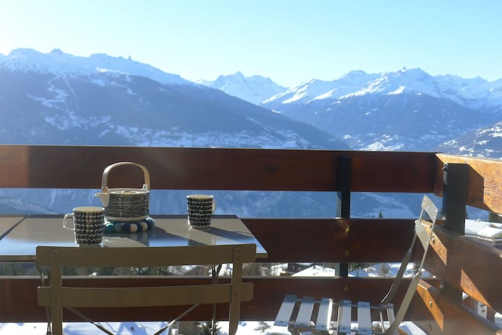 Super location, Anzère Swiss Alps nr Crans-Montana - Ayent - Departamento