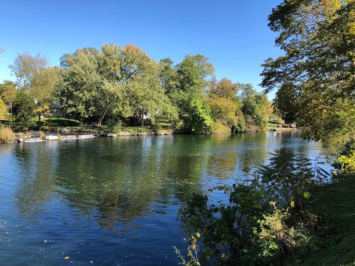 FingerLakes on Seneca River Canal & Private Dock