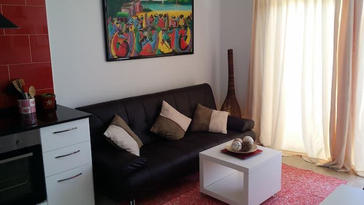 Coqueto apartamento con  velocidad máxima de Wi-Fi
