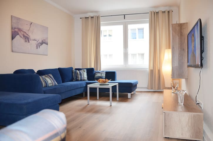 Modern apartment with balcony in Hannover Centrum