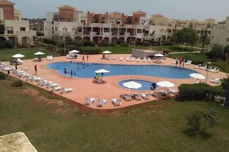 Bel Appart 120 m2  piscine et plage - Oujda