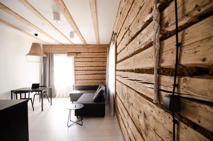 Daj Spokój - piękny, wygodny apartament z kuchnią