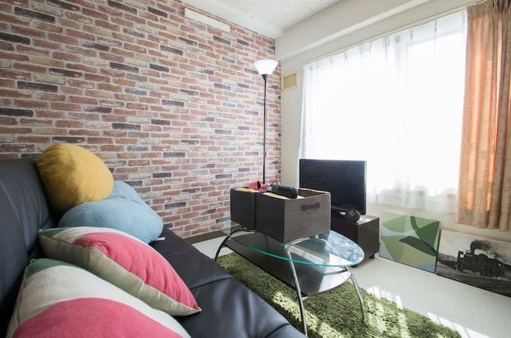 Best stay!! Oraru trip/Sapporo Sta just 30mins - Otaru-shi - Apartament