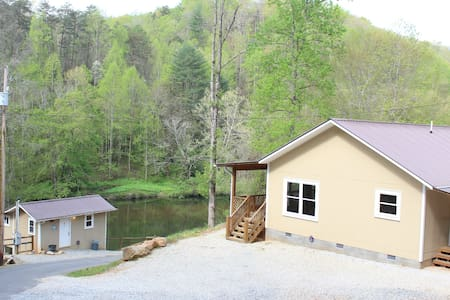 Oconaluftee Lake Cabin Rental - Whittier - House