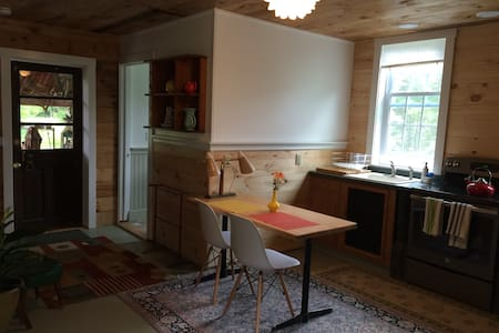 Cozy barn apartment on the river - Williamstown - Appartement