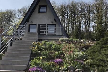 Ferienhaus mit Waldblick am Rennsteig