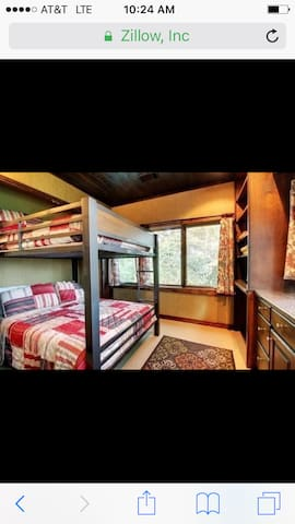 *Bunk special @ Eagles Rest Lodge Sleeps 4 VIEWS
