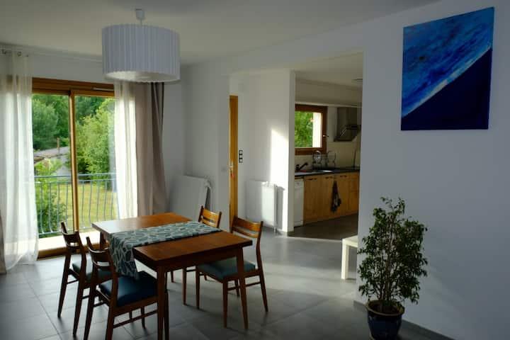 Maison bord de l'Indre • Loire Valley accomodation