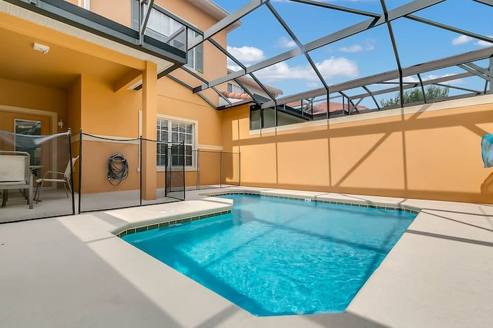 4B/3B PRIVATE POOL HOME PARADISE PALMS (8963Candy)