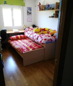 Habitación doble en Arcas (Cuenca) a 8 km en campo - Arcas - Apartment