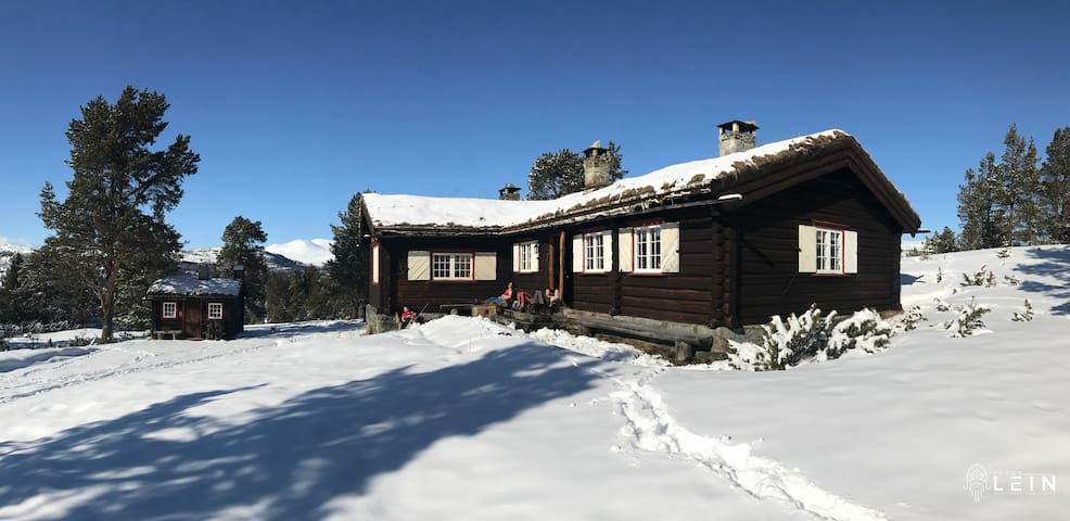 Mountain lodge in Rondane national park