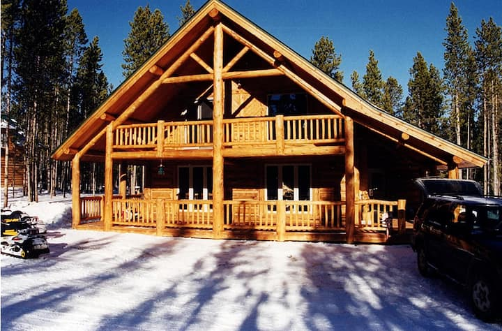 Family Cabin within the Wind River Mountain Range.