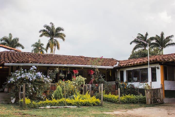 Hospedaje en Charalá, Colombia