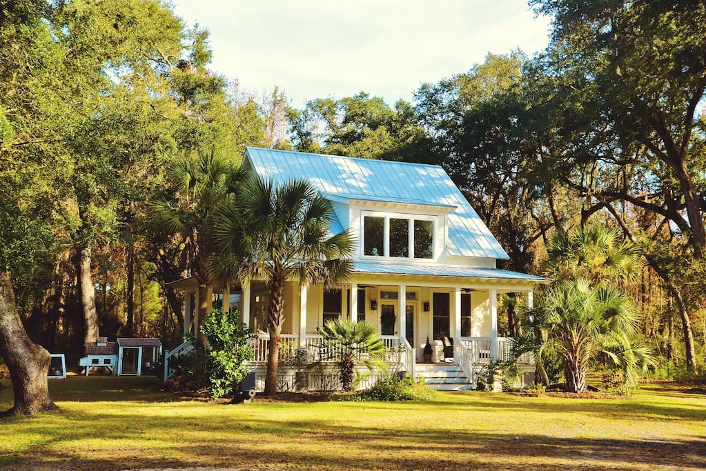 Relax and live like a local - a sea island lowcountry local.