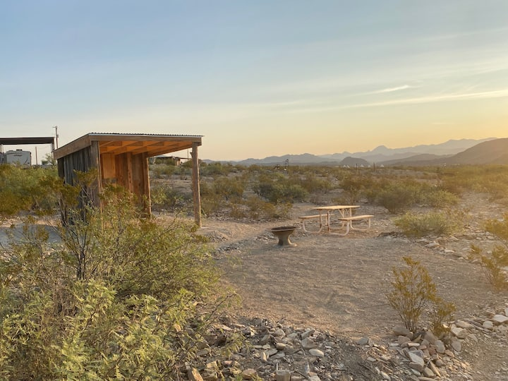 Camping shelter in the Ghost Town, #2