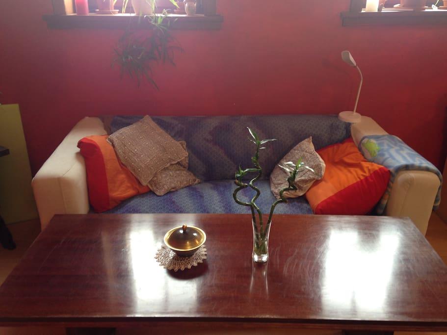 Close Up Living Room