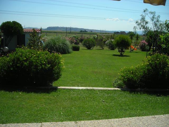 Casa con giardino ideale per ospiti stranieri. - Tarquinia - Dom
