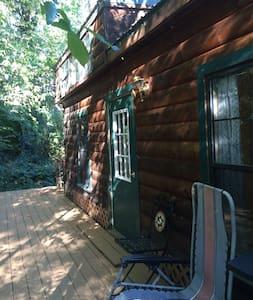 Nevada city modular log cabin close to downtown - Nevada City