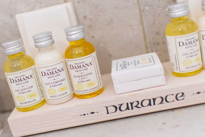 Cosmetic products are ORGANIC from the brand Damana! We are proud of it :)