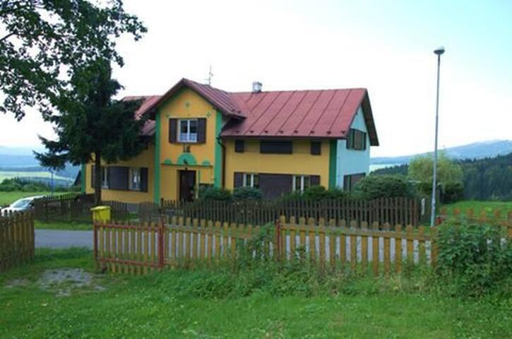 Chata Andrea v krásné přírodě CHAKO v Janovičkách