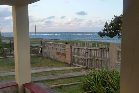Oceanfront, Small town, outdoor activity,Location - Santa Cruz Del Norte - Casa