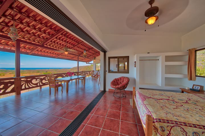Fantastic ocean views from secluded deluxe Rancho - Nosara - House