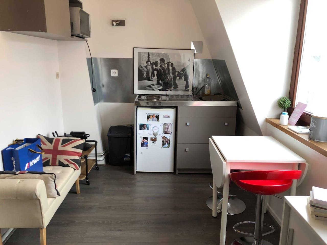 Studio charmant hyper-centre Vieux Lille