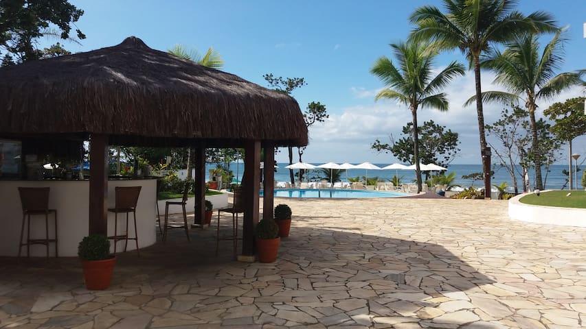 Apto Pé na areia com vista e som das ondas do mar - Ubatuba - Apartment