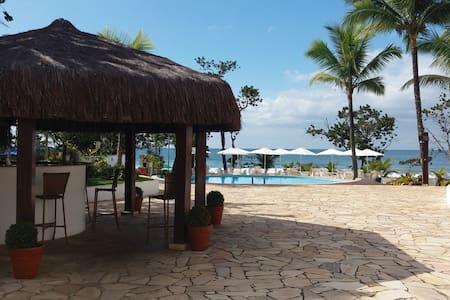 Apto Pé na areia com vista e som das ondas do mar - Ubatuba - Wohnung