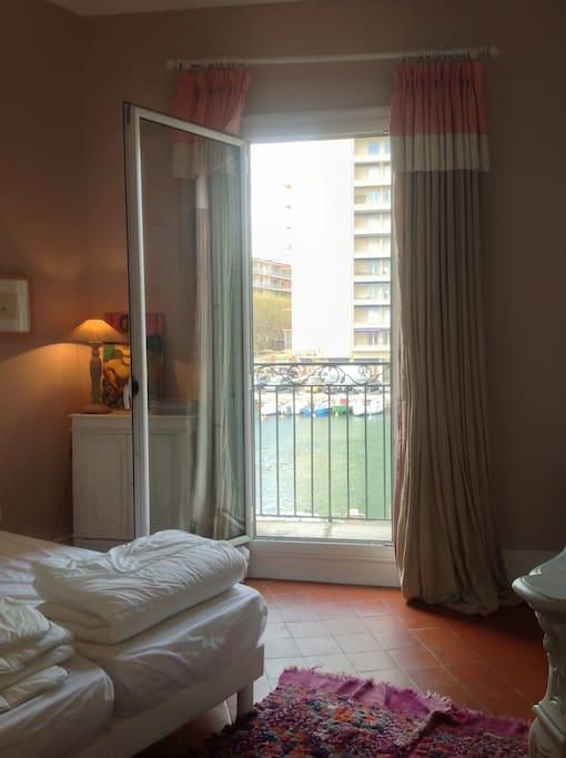 Balcon chambre 2 lits