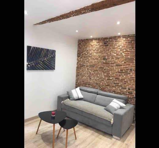 Studio typique Charme&Confort hypercentre Carmes