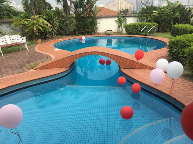 PJ Pool bungalow for private function & birthday