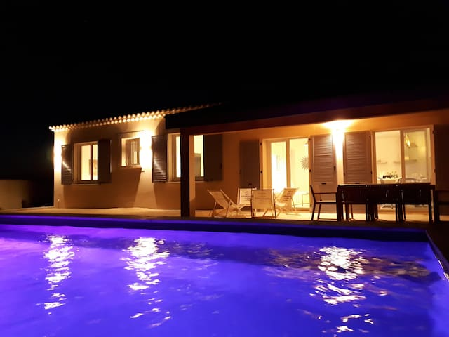 Villa 3* privatisée+ piscine au coeur du Luberon