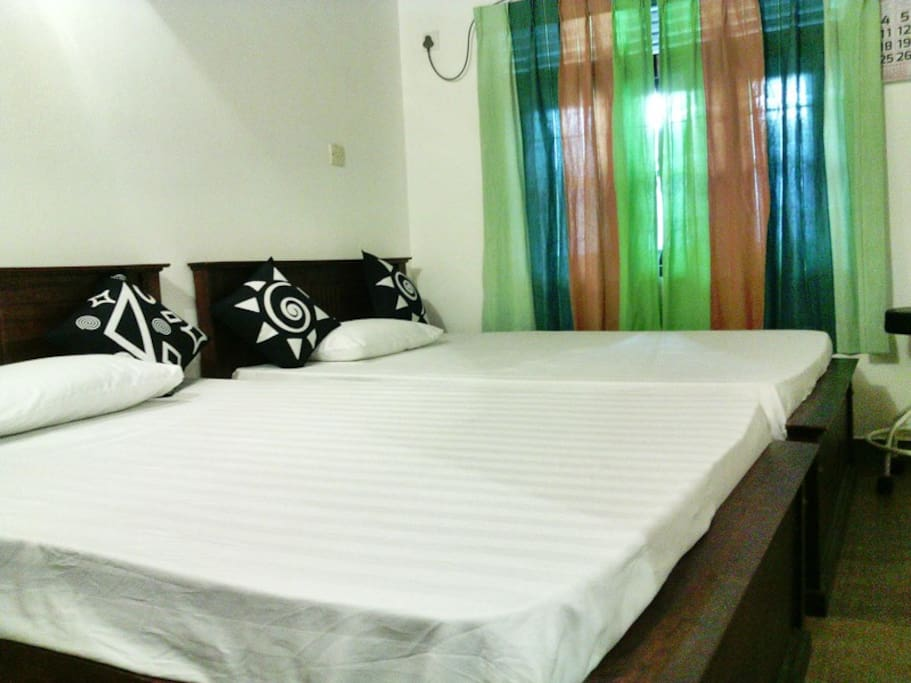 Jasmien room beds and superb /comfy  06 inch mattresses