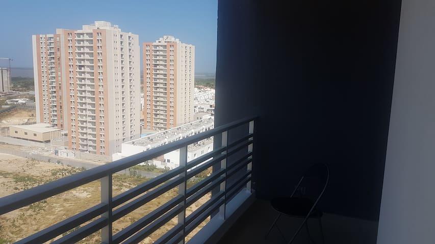 Apartamento Amoblado Barranquilla - Puerto Colombia - Huoneisto