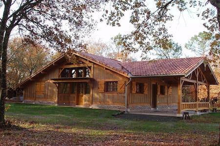 LA LANDAISE DU CHARPENTIER - Callen - Natur-Lodge
