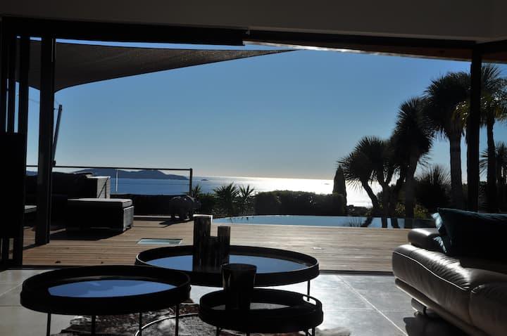 Villa Rangiroa vue mer plein sud