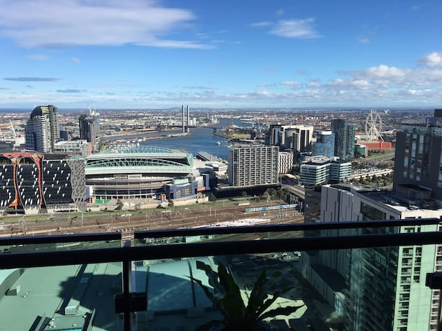在墨尔本CBD市中心38层看风景City View on 38 Floor MelbourneCBD - Melbourne  - Apartment