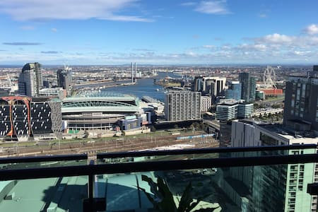 在墨尔本CBD市中心38层看风景City View on 38 Floor MelbourneCBD - Melbourne  - アパート