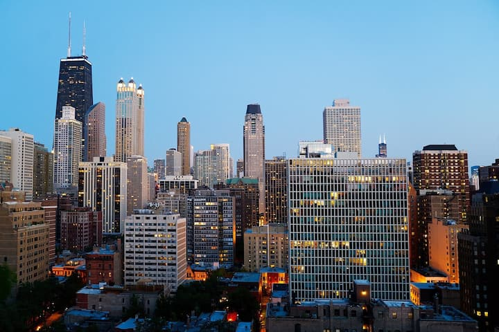 Close to Mag Mile 2 Double Beds in Boutique Hotel
