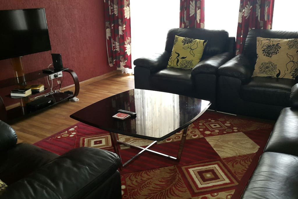 living room.  flat screen. WiFi available